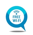 Free wi-fi icon vector image