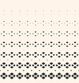 halftone geometric pattern with small diamonds vector image