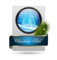 Trendy Christmas Sale Card vector image vector image