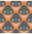 Ethnic damask seamless pattern vector image