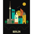 Berlin Germany vector image