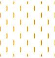candy iin yellow wrap pattern vector image vector image
