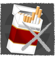 cigarette vector image vector image