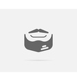 Facial Haircut Style Grease Element or Icon Ready vector image vector image