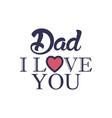 love father day badge sticker logo icon design vector image vector image