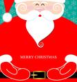 Santa Claus present vector image vector image