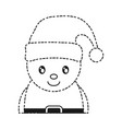 santa helper icon vector image vector image