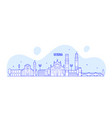 verona skyline italy city with buildings vector image