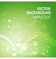 Elegant green background vector image vector image