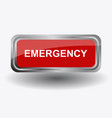 emergency icon in on white background vector image vector image