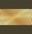 golden shiny metallic background - round vector image