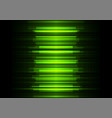green frequency bar overlap in dark background vector image