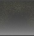 rain golden golden glitter texture vector image vector image