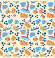 seamless color pattern inspired spain vector image