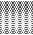 simple geometric texture black hexagonal shapes vector image vector image