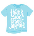 thank you quotes and stickers vector image