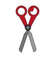 Color image cartoon scissors tool for cut