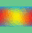 geometric triangle wallpaper flat vector image vector image