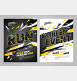 layout design template for sport vector image vector image