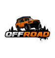 offroad logo template vector image