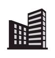 single building icon vector image vector image