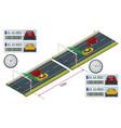 specs average speed measuring speed camera system vector image
