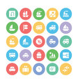 Travel Icons 2 vector image vector image