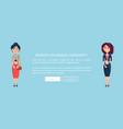 women s business community vector image vector image