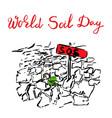 world soil day creative concept vector image