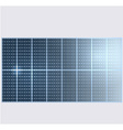 Reflection in solar panels vector image