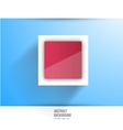 abstract background Square red vector image vector image