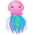 Cute Jellyfish vector image