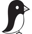 flying bird icon image vector image vector image