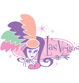 Las vegas showgirl signs vector | Price: 1 Credit (USD $1)