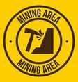 mining design vector image