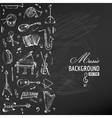 Music Instruments Background vector image