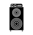 music speaker device vector image vector image