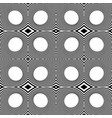 pattern with mirrored ovals ellipses abstract vector image