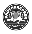 photographer studio vector image vector image