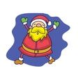Santa Claus character collection stock vector image vector image