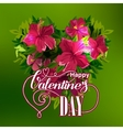 Vilentines day greeting card vector image vector image