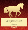 Background with horse vector | Price: 1 Credit (USD $1)