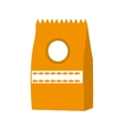 bag animal food isolated icon vector image vector image