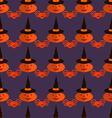 Halloween pattern26 vector image