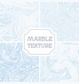 Light white and blue marble texture liquid vector image