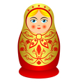 matrioshka vector image
