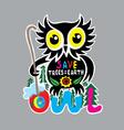 Owl Art vector image