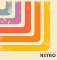 retro design background with vintage grunge vector image