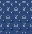 seamless medical pattern vector image vector image