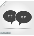 Talking Message Discussion Pictograph Chat icon vector image
